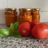 How to make and preserve tomato sauce